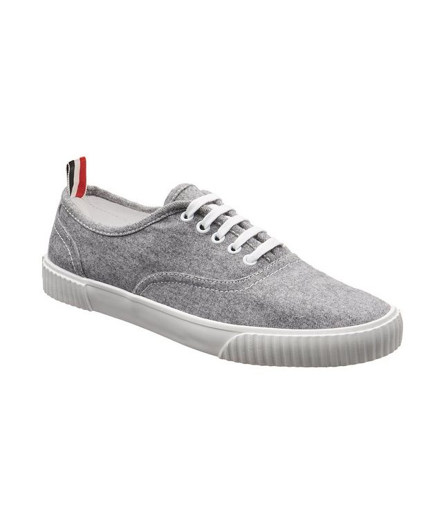 Heritage Boiled Wool Sneakers picture 1