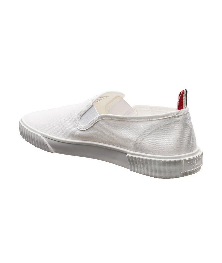 Heritage Canvas Slip-On Sneakers image 1