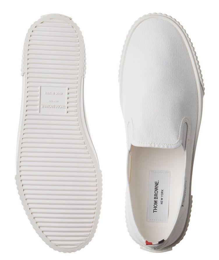 Heritage Canvas Slip-On Sneakers image 2