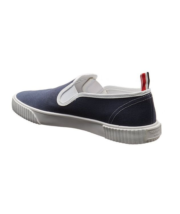 Heritage Canvas Slip-On Sneakers picture 2