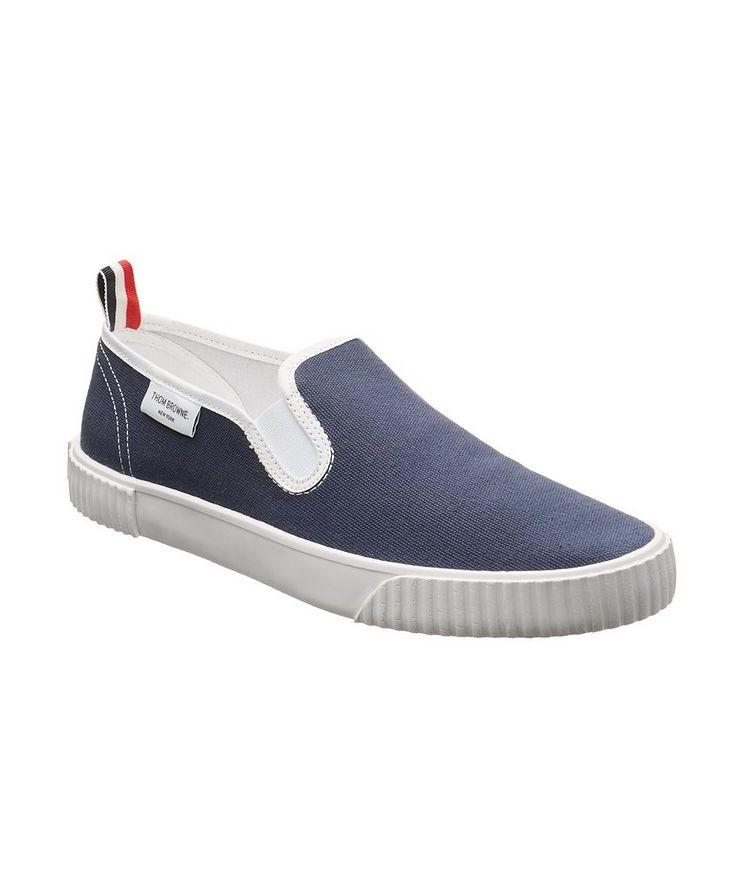 Heritage Canvas Slip-On Sneakers image 0