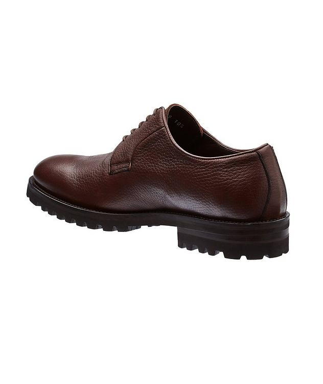 Quillon Deerskin Leather Derbies picture 2