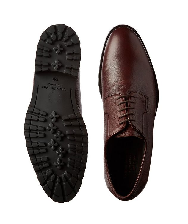 Quillon Deerskin Leather Derbies picture 3