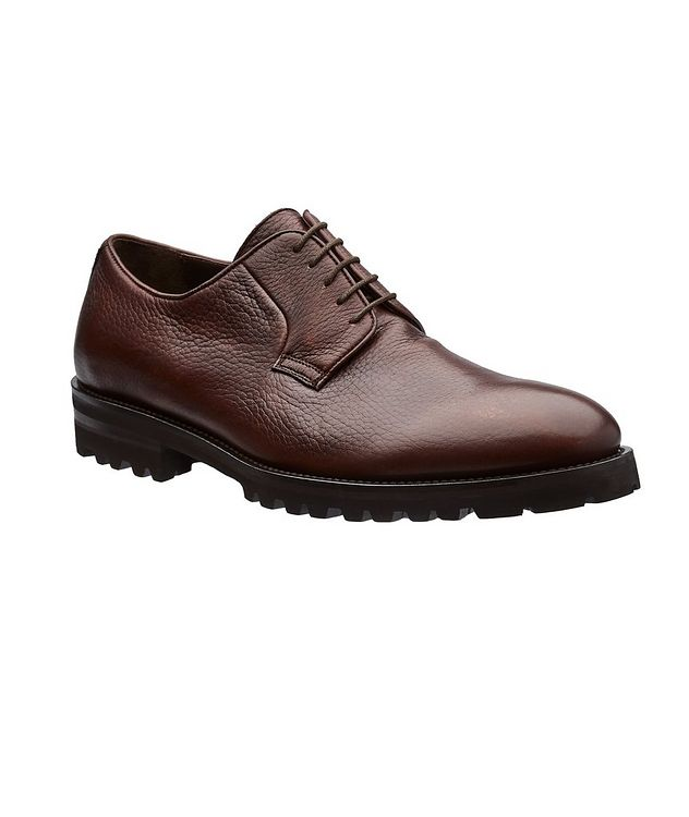 Quillon Deerskin Leather Derbies picture 1