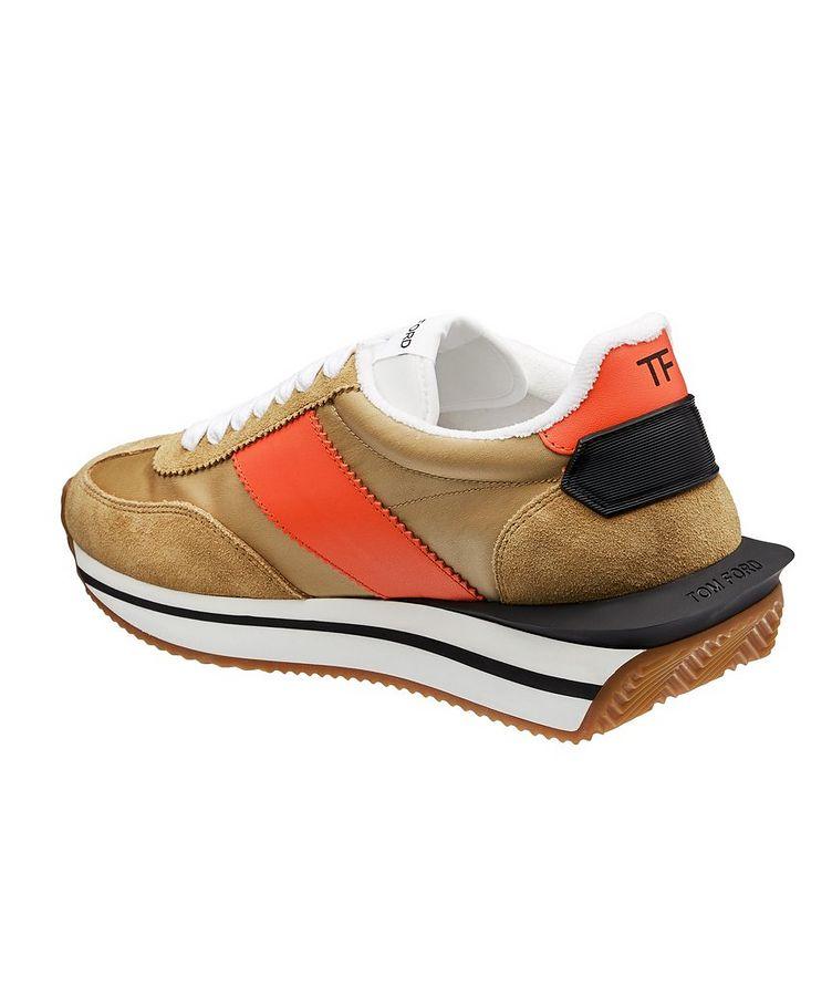 James Multi-Texture Sneakers image 1