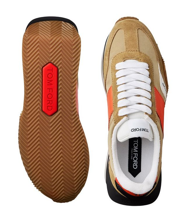 James Multi-Texture Sneakers picture 3