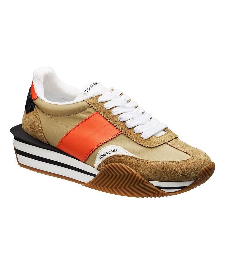 James Multi-Texture Sneakers image 0