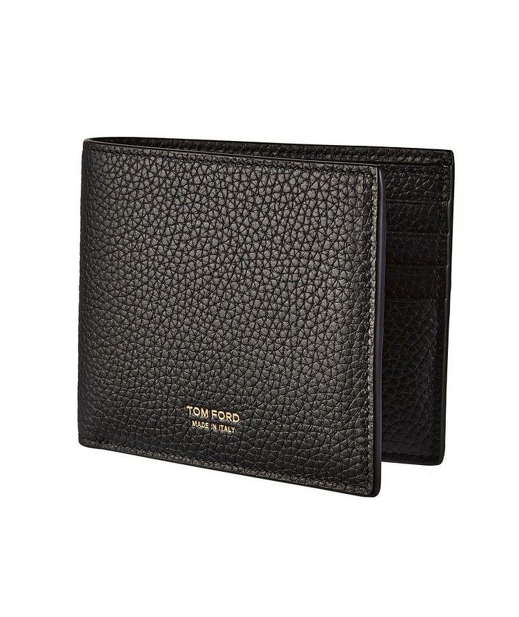Grain Leather Bifold Wallet image 0