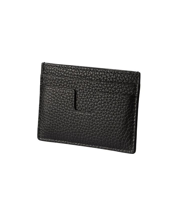 Grain Leather Card Holder image 1