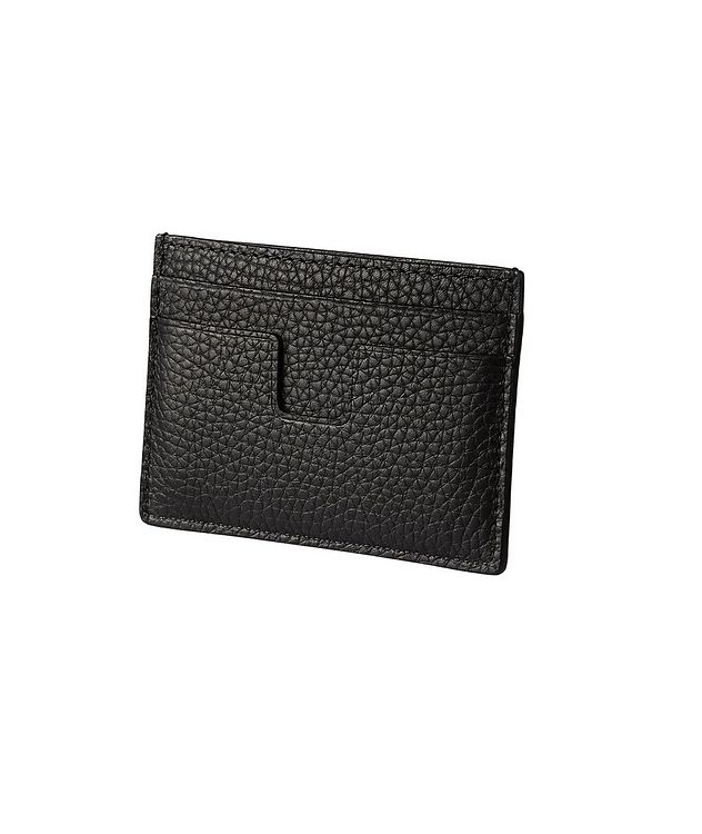 Grain Leather Card Holder picture 2