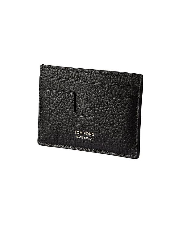 Grain Leather Card Holder picture 1