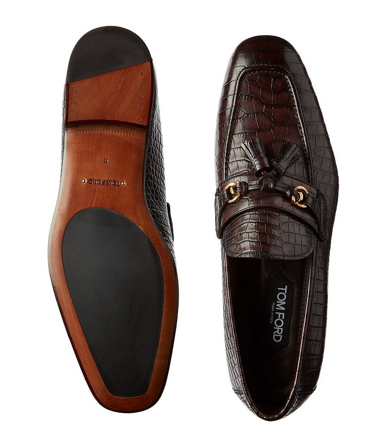 Sean Tassel Calfskin Loafers image 2