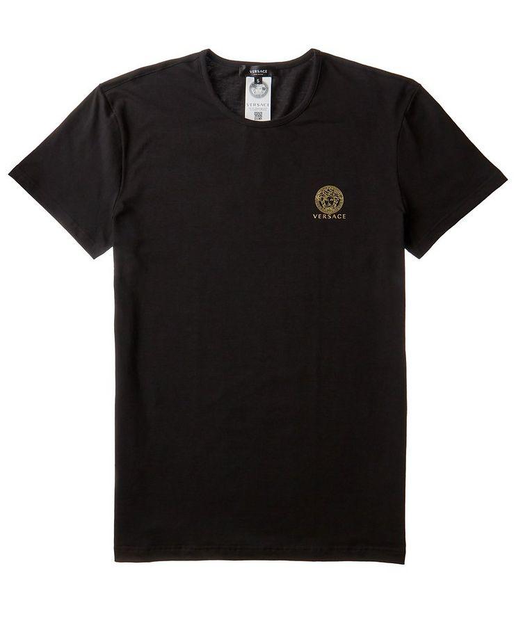 Medusa Logo Cotton-Blend Undershirt image 0