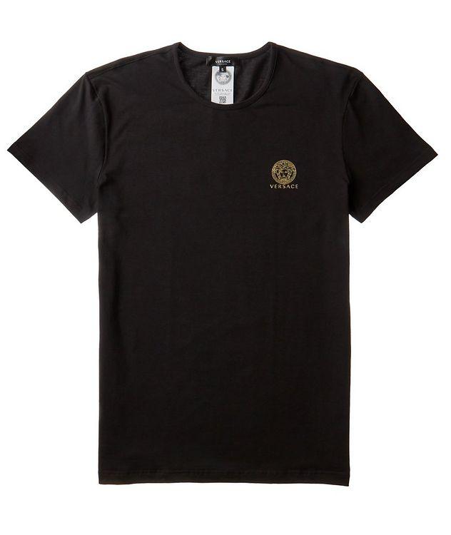 Medusa Logo Cotton-Blend Undershirt picture 1