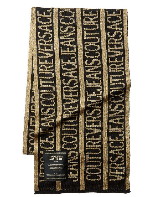 Printed Wool-Blend Scarf picture 1