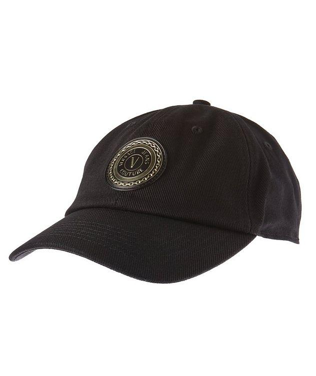 V-Emblem Cotton Baseball Cap picture 1
