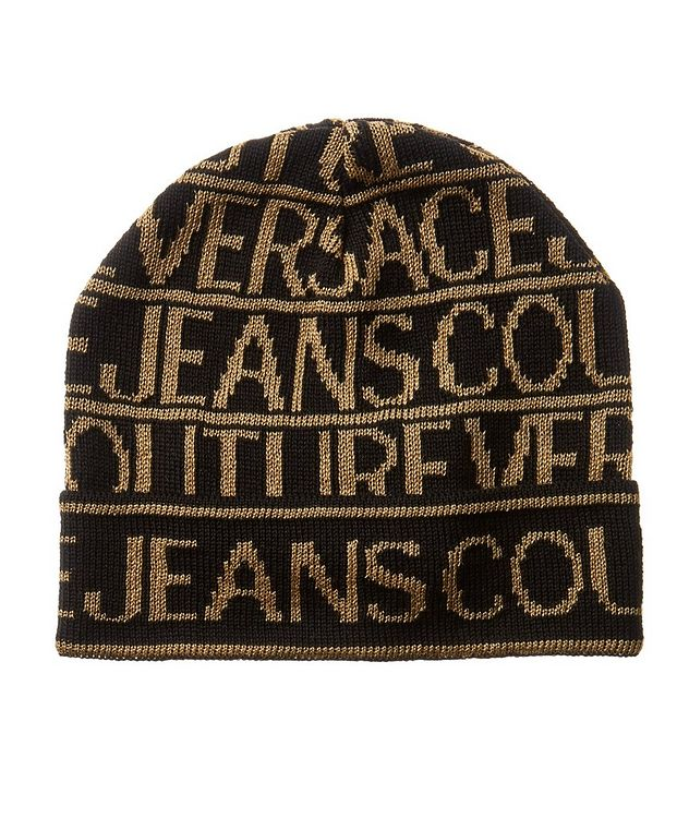 Printed Wool-Blend Toque picture 1