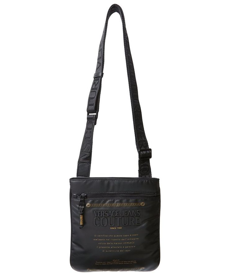 Coated Nylon Crossbody Bag image 0