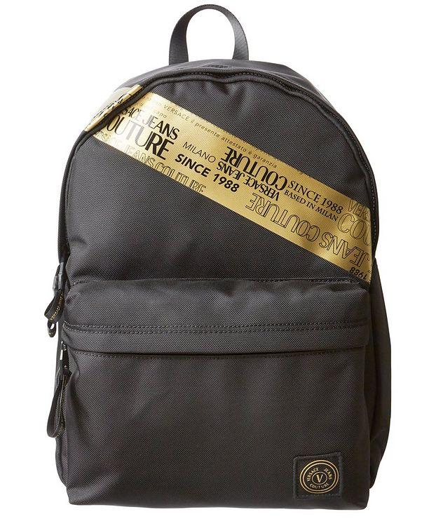 Etichetta Tape Nylon Backpack picture 1