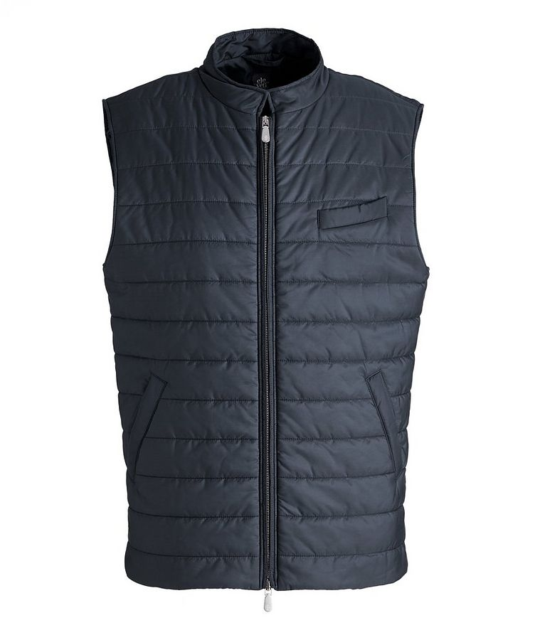 Technical Nylon Quilted Vest image 0
