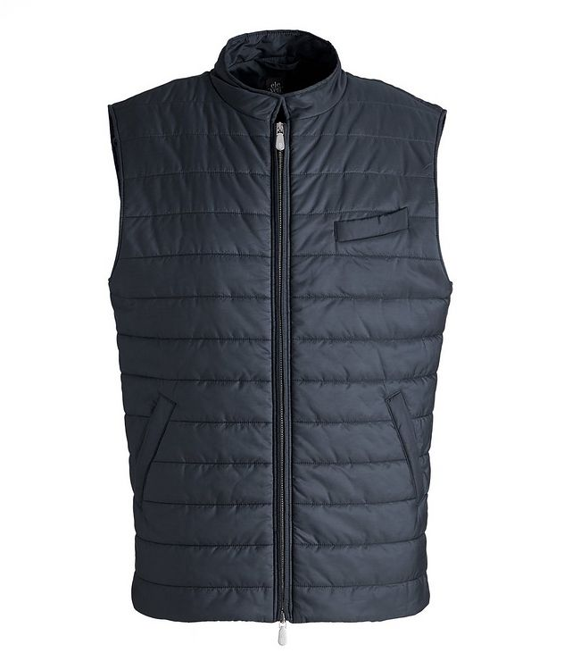 Technical Nylon Quilted Vest picture 1