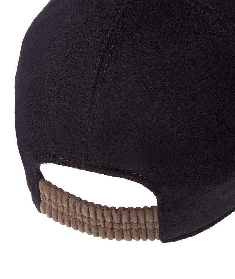 Cashmere Baseball Cap image 1