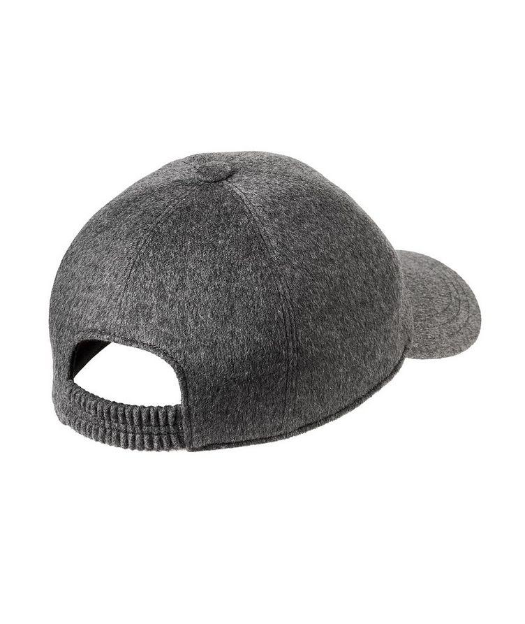 Couture Cashmere Baseball Cap image 1
