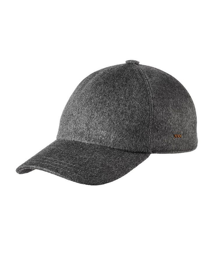 Couture Cashmere Baseball Cap image 0