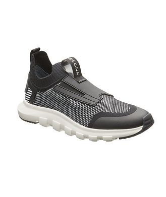 Z Zegna Techmerino Sock 2.0 Elastic Sneakers
