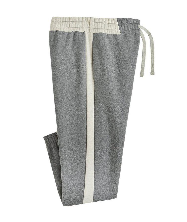 Cotton-Cashmere Track Pants image 0