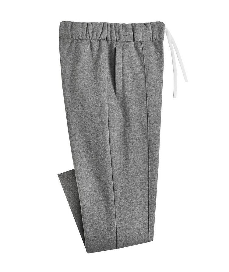 Cotton-Blend Track Pants image 0