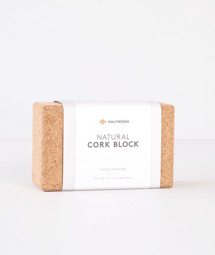 Cork Yoga Block image 1