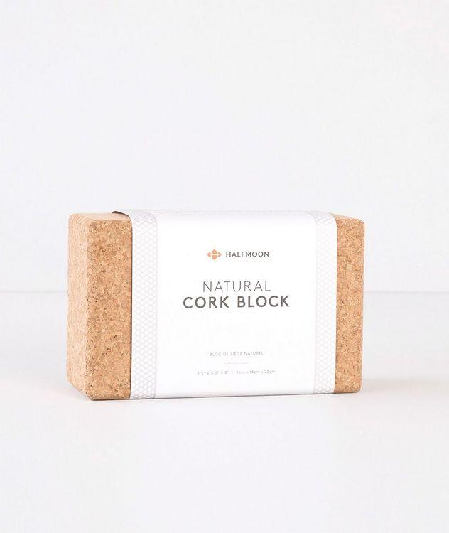 Cork Yoga Block picture 2