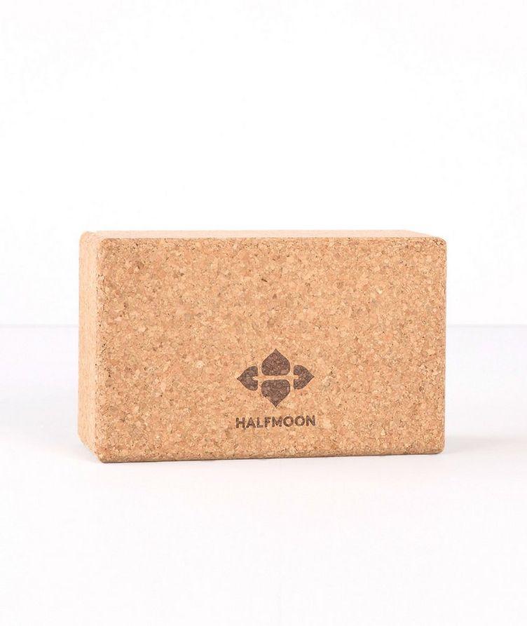 Cork Yoga Block image 0