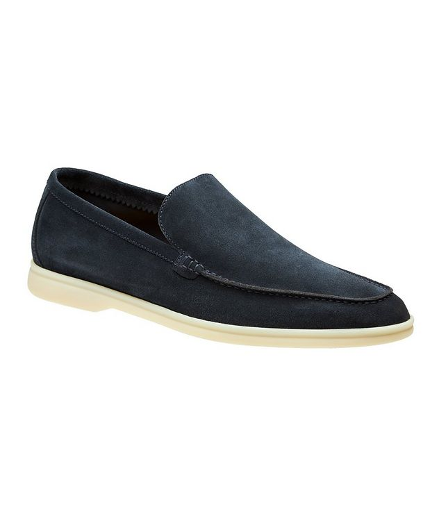 Summer Walk Suede Loafers picture 1