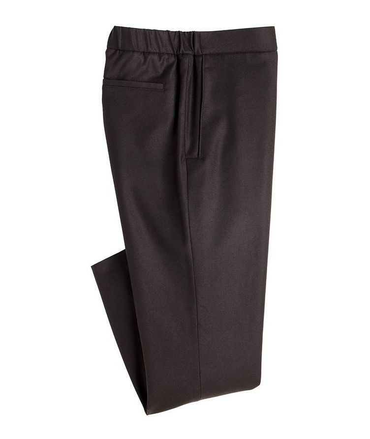 Leisure City Wool-Cashmere Flannel Trousers image 0
