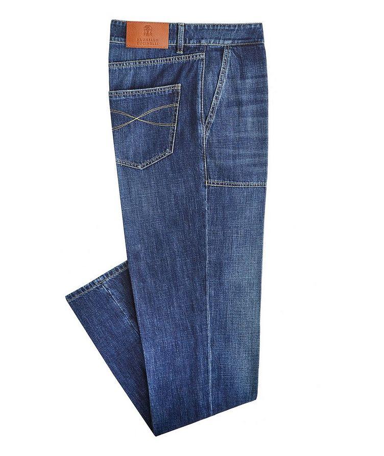 Slim-Fit Fatigue Jeans image 0