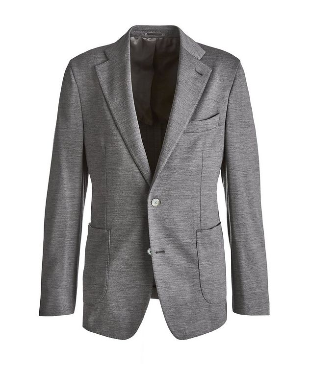 Slim Fit Wool Sports Jacket picture 1
