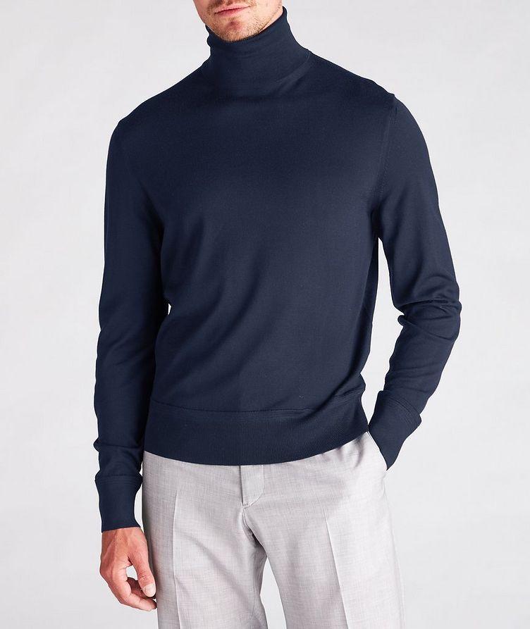 Pull en laine à col roulé image 1