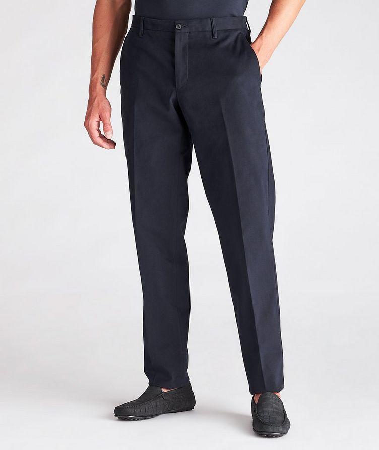 Cotton-Blend Dress Pants image 1