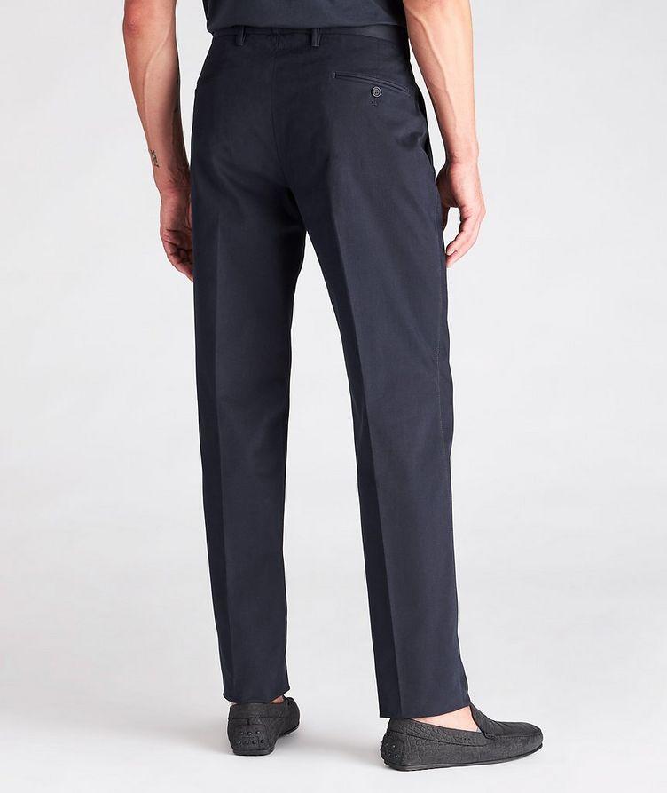 Cotton-Blend Dress Pants image 2