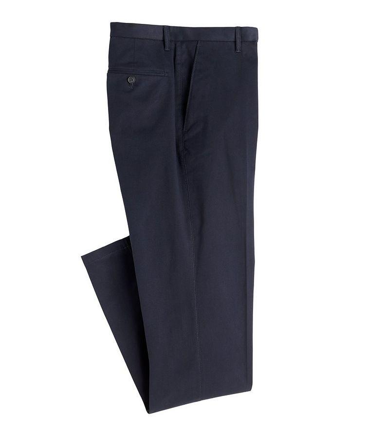 Cotton-Blend Dress Pants image 0