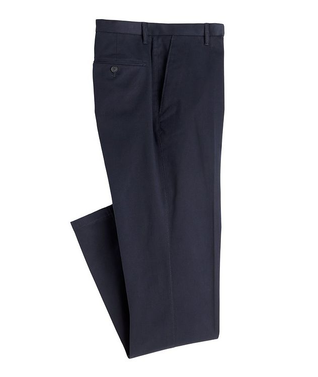 Cotton-Blend Dress Pants picture 1