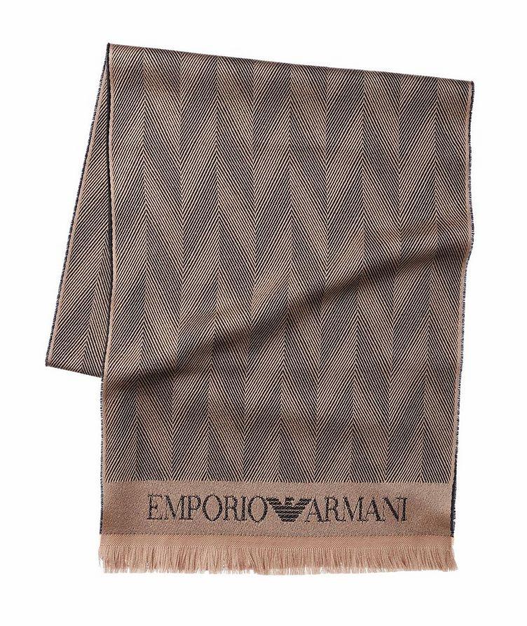 Jacquard Wool Scarf image 0