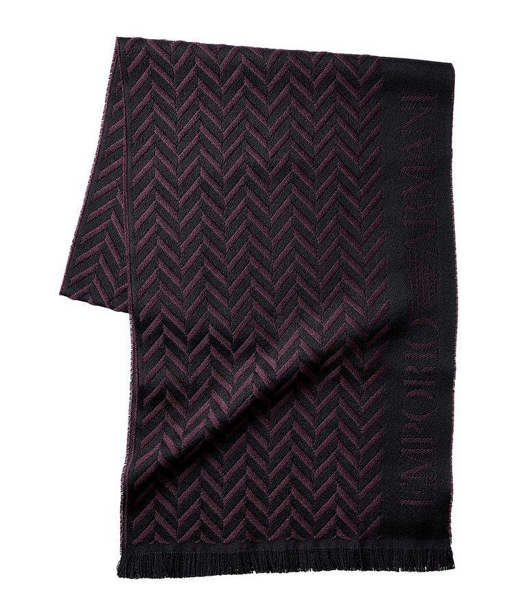 Écharpe en jacquard de laine image 0