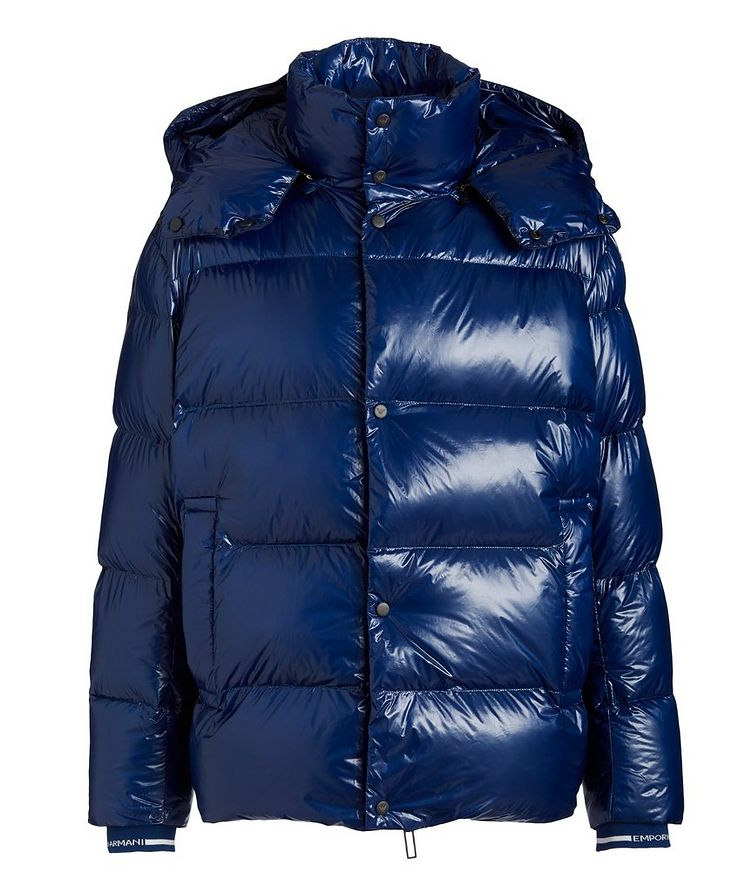 Water-Repellent Quilted Down Jacket image 0