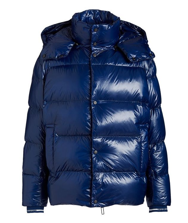 Water-Repellent Quilted Down Jacket picture 1