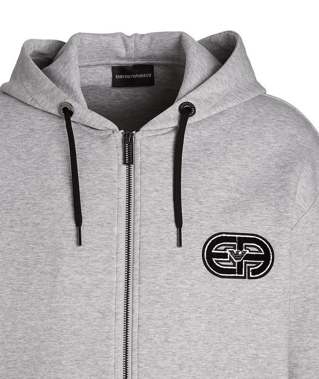 Logo Cotton-Blend Hoodie picture 2