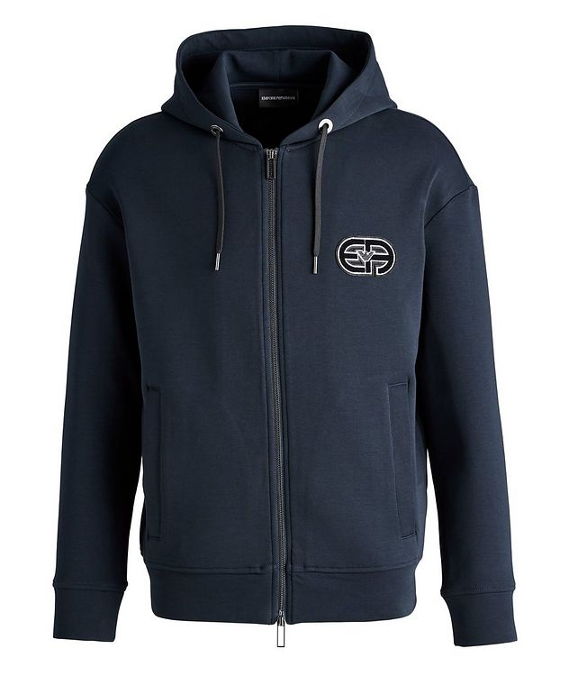 Logo Cotton-Blend Hoodie picture 1
