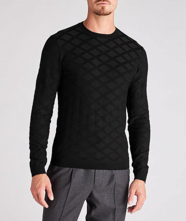 Geometric Motif Sweater picture 2